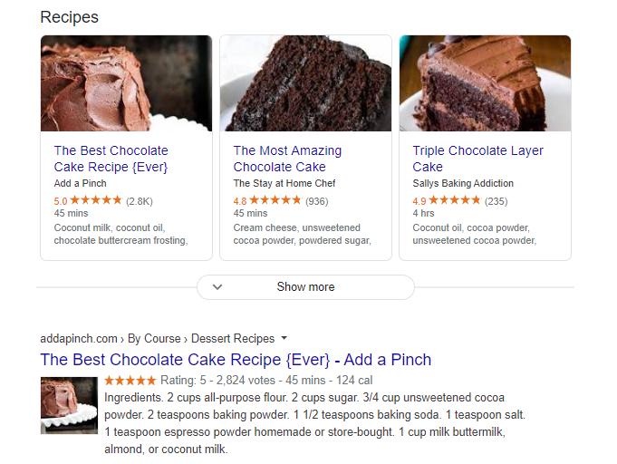 kue coklat terbaik