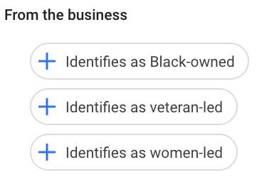 Dari atribut bisnis
