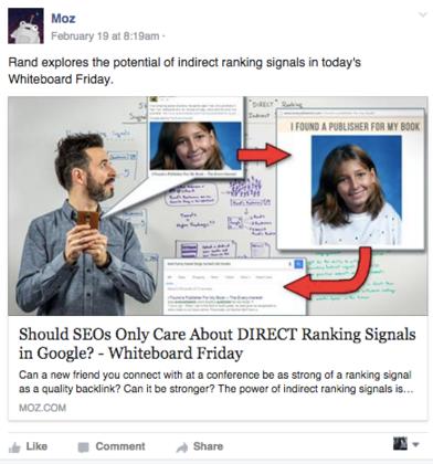 ide untuk pemasaran facebook