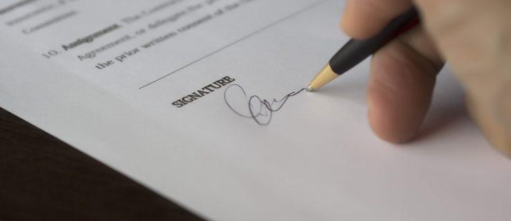 Cara Menyisipkan Tanda Tangan di Microsoft Word