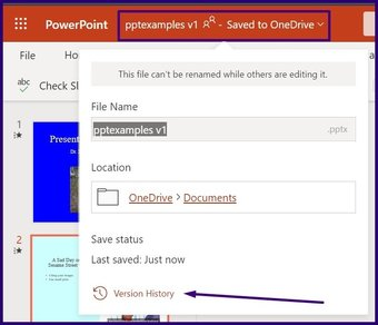 Lacak perubahan pada microsoft powerpoint langkah 16