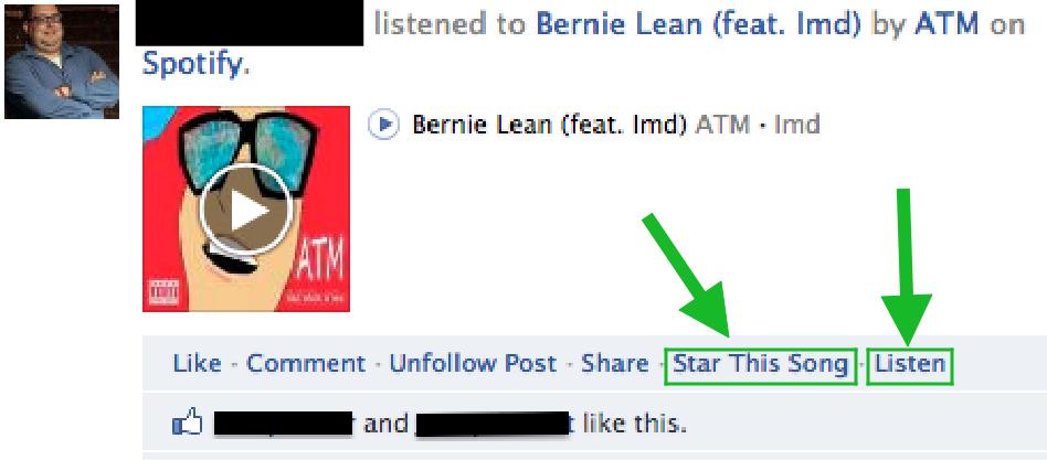 Pemasaran Facebook Spotify