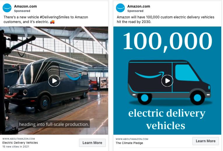 Iklan Kendaraan Amazon