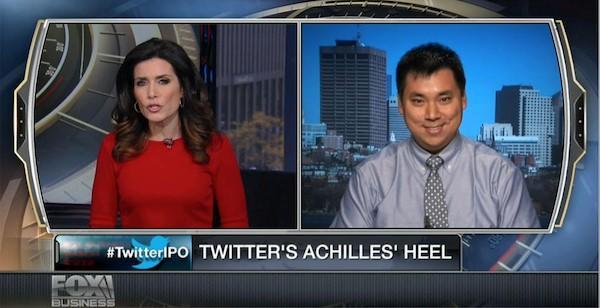 Iklan media sosial, wawancara Larry Kim Fox News