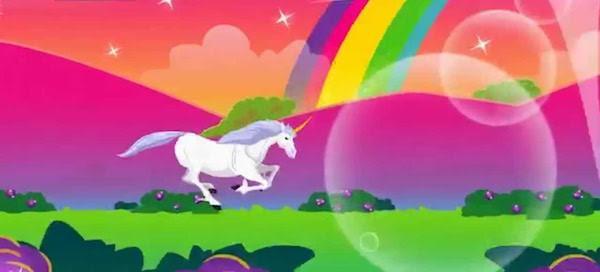 Unicorn mengiklankan media sosial