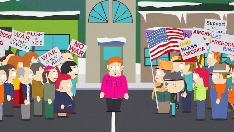 Iklan media sosial meme South Park